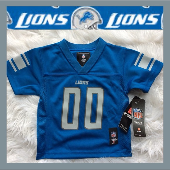 Nwt Detroit Lions Infant Jersey